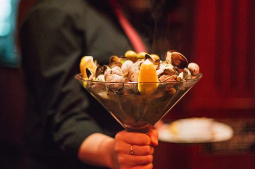 Martini clams